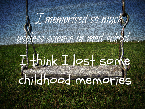 article on sweet memories of childhood