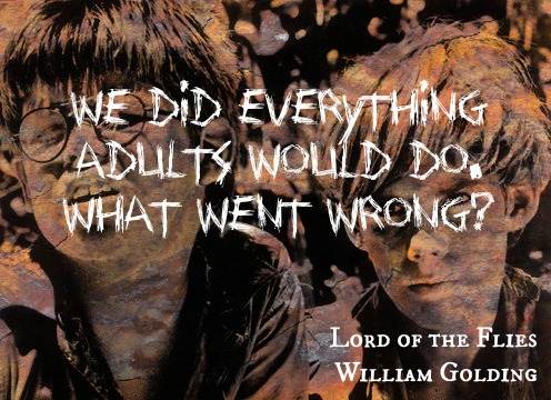 william golding believes man is a savage at heart Is man inherently evil, like william golding believes or is man good at heart but inevitably becomes corrupted by the society he lives in, as said by jean jacques rousseau.