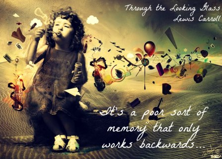 looking glass quote