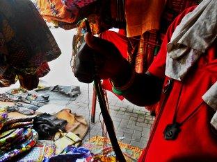 Handwoven craft in Ghana