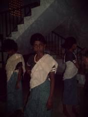 Traditional Keralan dance in Kochi, India