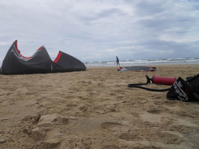 Watching The Boy kite surf taught me a new appreciation for the sea