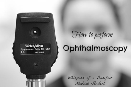 how to ophthalmoscope
