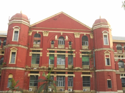 Yangon General Hospital, from outside