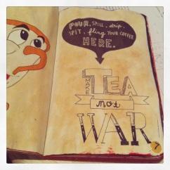 I decided to use tea instead of coffee.