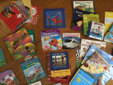 Children's books around the world, courtesy of Rico Andrade.