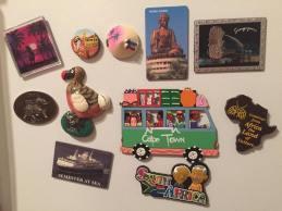 Magnets, courtesy of Nicole.