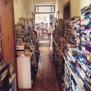 Bikini Beach Bookstore in Gordon's Bay, Cape Town