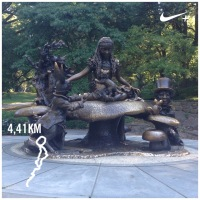 Alice in Wonderland, Central Park!