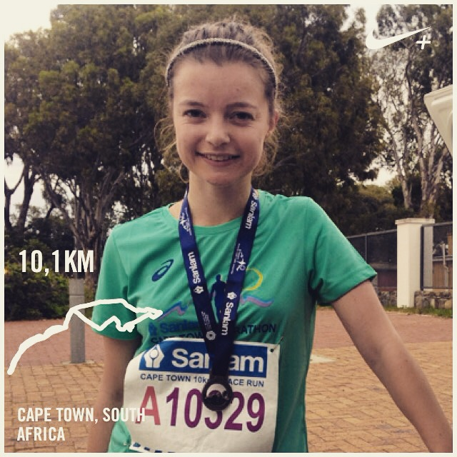 After the Peace Run, Cape Town!