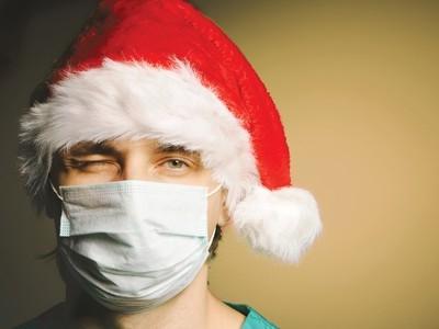 nurse-working-christmas