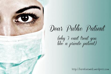 dear public patient