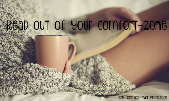read out of comfort zone