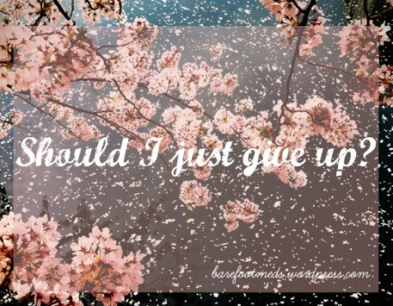 give up hope dont
